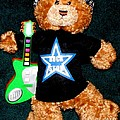 Rock Star Teddy Bear by Gail Matthews