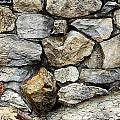 Rock Wall  by Les Cunliffe