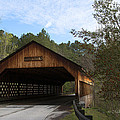 Rockdale County Covered Bridge by Mike Fitzgerald