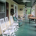 Rockers On The Porch by Gordon Elwell