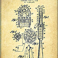 Rocket Apparatus Patent From 1914-vintage by Aged Pixel