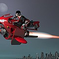 Rocket Scooter by Michael Wimer