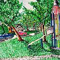 Rocket Slide by Jame Hayes