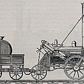 Rocket Steam Engine Designed by Everett
