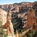 Rockformation At Bryce Canyon  by Christiane Schulze Art And Photography