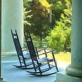 Rocking Chairs And Columns by Kathleen K Parker