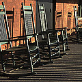 Rocking Chairs by Guy Shultz