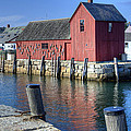 Rockport Fishing Village by Donna Doherty