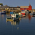 Rockport Harbor No.2 by Mark Myhaver