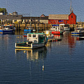 Rockport Harbor No.3 by Mark Myhaver