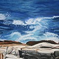 Rocks Above The Sea by Michele Turney