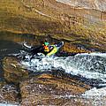 Rocks And Rapids by Susan Leggett