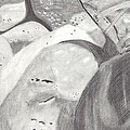 Rocks And Shoe  by Random Merlin Ellis