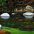 Rocks And Water by Ben Yassa