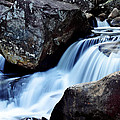 Rocks And Waterfall by Adam LeCroy