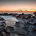 Rocks And Waves #7 by Brad Grove