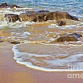 Rocks And Waves by Jeremy Hayden