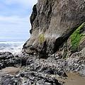 Rocks At Arcadia Beach by Will Borden