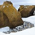 Rocks At Brown Bluff, Antarctica by John Shaw