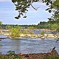 Rocks In The River by Gordon Elwell