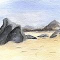 Rocks On Beach by Jamie Frier