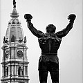Rocky And Philadelphia by Bill Cannon