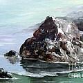 Rocky Beach by Lynne Parker