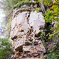Rocky Cliff Wildcat Den Muscatine Ia 1 by Cynthia Woods