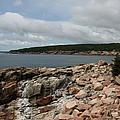 Rocky Coastline Acardia Park by Christiane Schulze Art And Photography