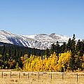Rocky Mountain Autumn by Marilyn Hunt