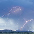 Rocky Mountain Front Range Foothills Lightning Strikes by James BO  Insogna