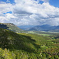 Rocky Mountain National Park Panorama by Alan Hutchins