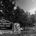 Rocky Mountain National Park Signage by Thomas Woolworth