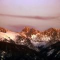 Rocky Mountain Sunset by Ellen Heaverlo