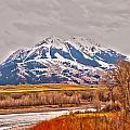 Rocky Mountains In Montana by Alex Grichenko
