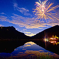 Rocky Mountains Private Fireworks Show by James BO Insogna