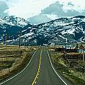 Rocky Mountains Road by Alex Grichenko