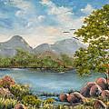 Rocky Outcrop by Dawn Broom