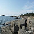 Rocky Seashore 2 In Hamina  by Ilkka Porkka