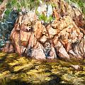 Rocky Shoreline by Boss Photographic