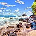 Rocky Shoreline by Dominic Piperata