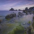 Rocky Shoreline by Ingrid Smith-Johnsen