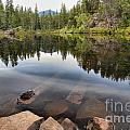 Rocky Shores At Swim Lake by Adam Jewell