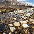 Rocky Stream From Beinn Eighe by David Head