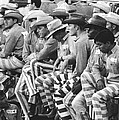 Rodeo Cowboy Prisoners by Underwood Archives