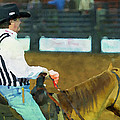 Rodeo Cowboy Referee by Alice Gipson