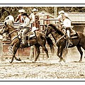 Rodeo Grandentry by Alice Gipson