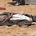Rodeo Gunslinger Victim Color by Sally Rockefeller