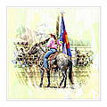 Rodeo Time In Colorado by Larisa Porter