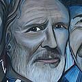 Roger Alan Wade Kris Kristoferson Billy Joe Shaver by Kate Fortin